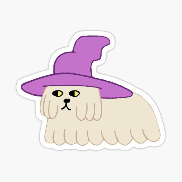 con el sombrero de Clancys Pegatina