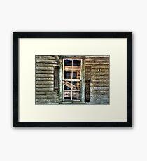 Old Shutters Framed Print