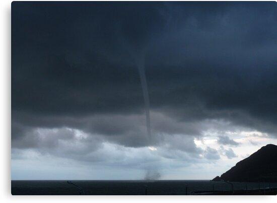 """""""Tornado""""? Sea Spout in Bray Co.Wicklow Ireland by Aoife McNulty"""