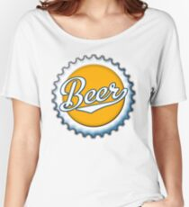 Beer Bottle Cap Women's Relaxed Fit T-Shirt