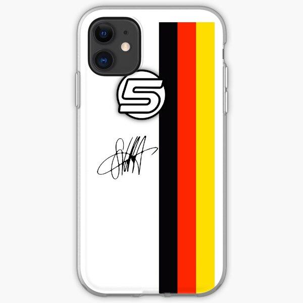 Vettel Helmet sig iPhone Soft Case