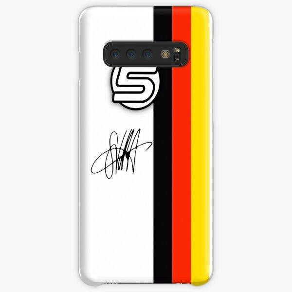 Vettel Helmet sig Samsung Galaxy Snap Case