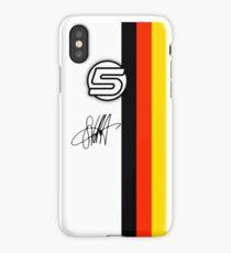 Vettel Helmet sig iPhone Case/Skin