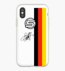 Vinilo o funda para iPhone Vettel Helmet sig