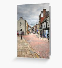 In the Footsteps of Charles Dickens  Greeting Card