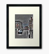 Rochester in the rain  Framed Print