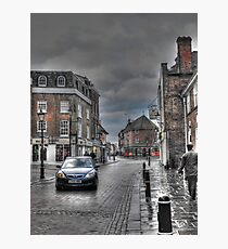 Rochester in the rain  Photographic Print