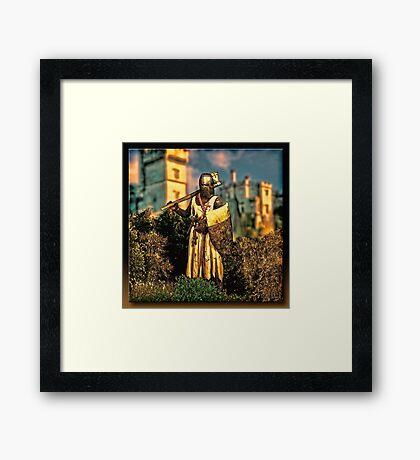 The Knight Templar Framed Print