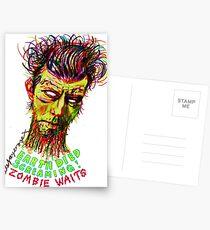 Zombie Waits Postcards