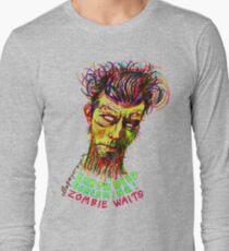 Zombie Waits Long Sleeve T-Shirt