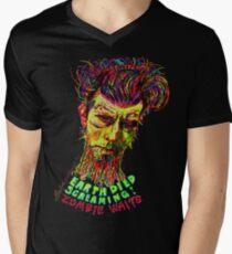 Zombie Waits Men's V-Neck T-Shirt