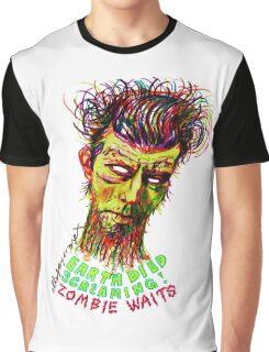 Zombie Waits Graphic T-Shirt