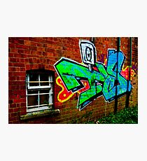 Graffiti Photographic Print