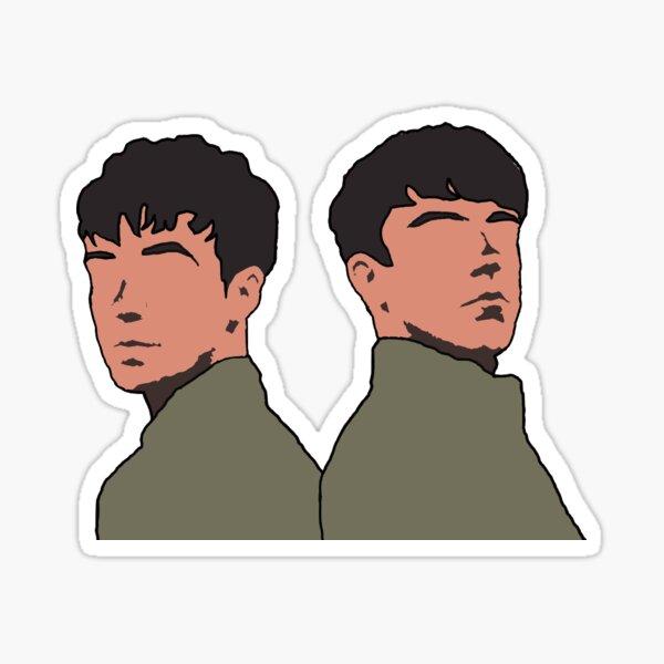 Declan McKenna, Alex Lawther Sticker