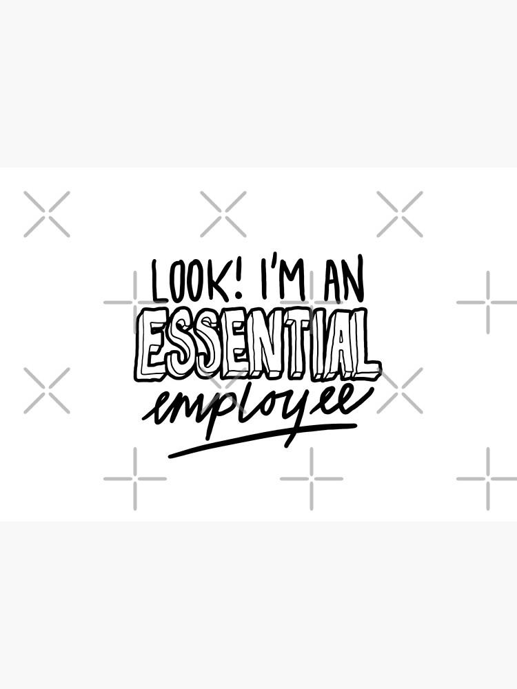 Funny Essential Employee Meme by sketchNkustom