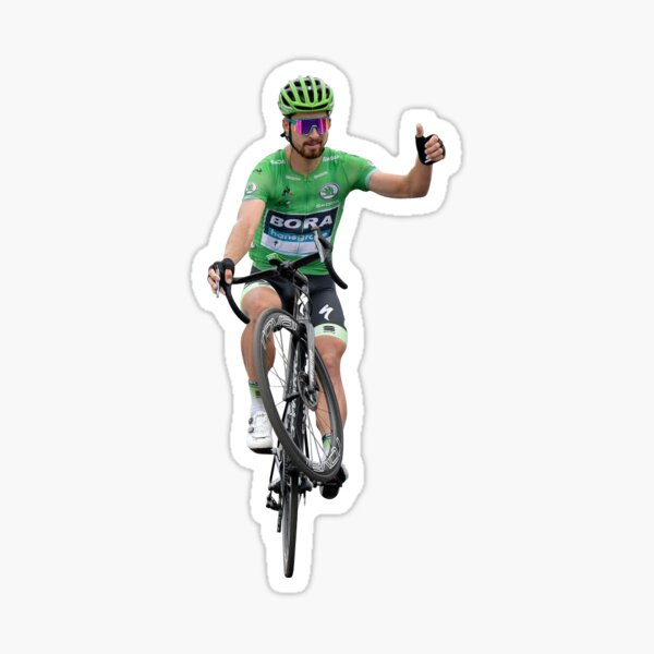 Peter Sagan Wheelie Tour de France Sticker