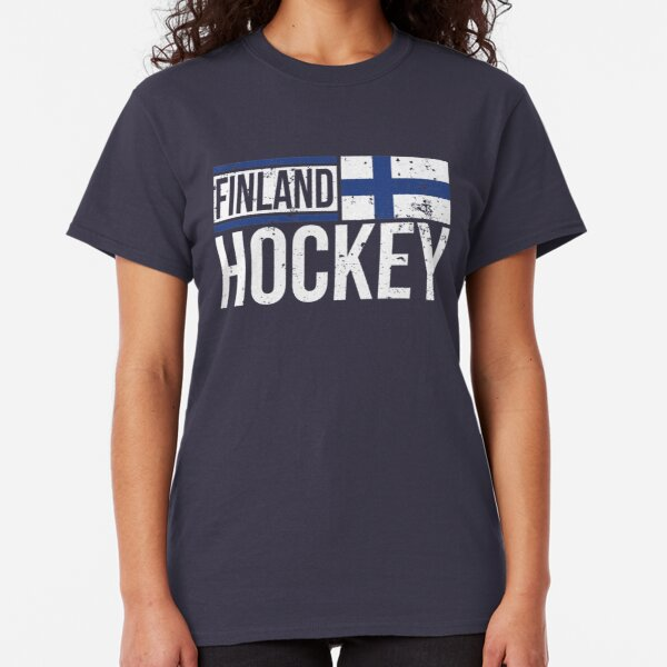 Finland Shield Crest Coat Of Arms Finnish Country Born FI Juniors V-Neck T-Shirt