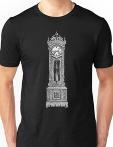 Grandpa Clock on dark Unisex T-Shirt