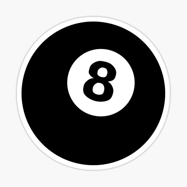 eightball Sticker