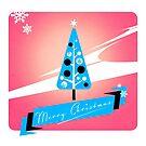 Merry Retro Christmas by Stuart Manning