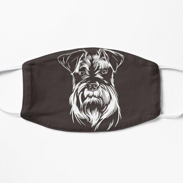 Miniature Schnauzer Dog Face Mask