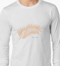 Palm Leaf 1 Long Sleeve T-Shirt