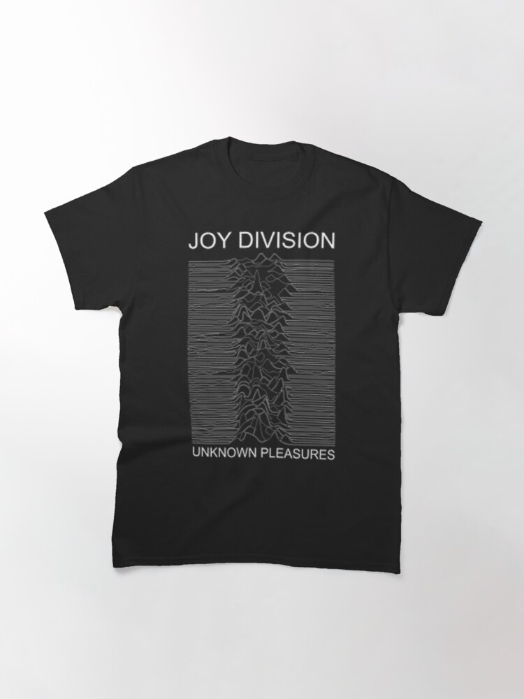 Alternate view of Joy Division Unknown Pleasures  Classic T-Shirt