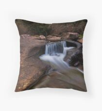 Mclarens sculptured rocks Throw Pillow