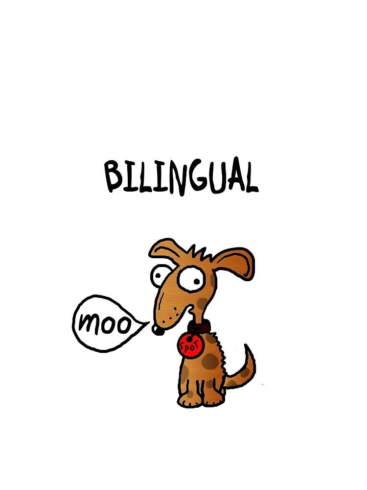 Bilingual dog by LoobyLu