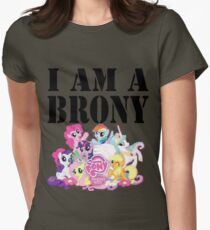 I am a Brony Women's Fitted T-Shirt
