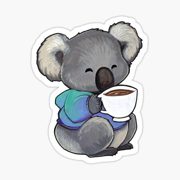 Koala Confort Sticker