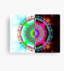 BIC #4:  Built-in Zodiac Wheel  (UF0722) Canvas Print