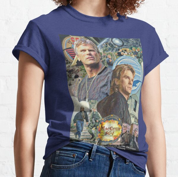MacGyver/SG-1 Movie Poster Classic T-Shirt