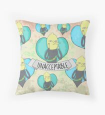 Lemongrab Throw Pillow