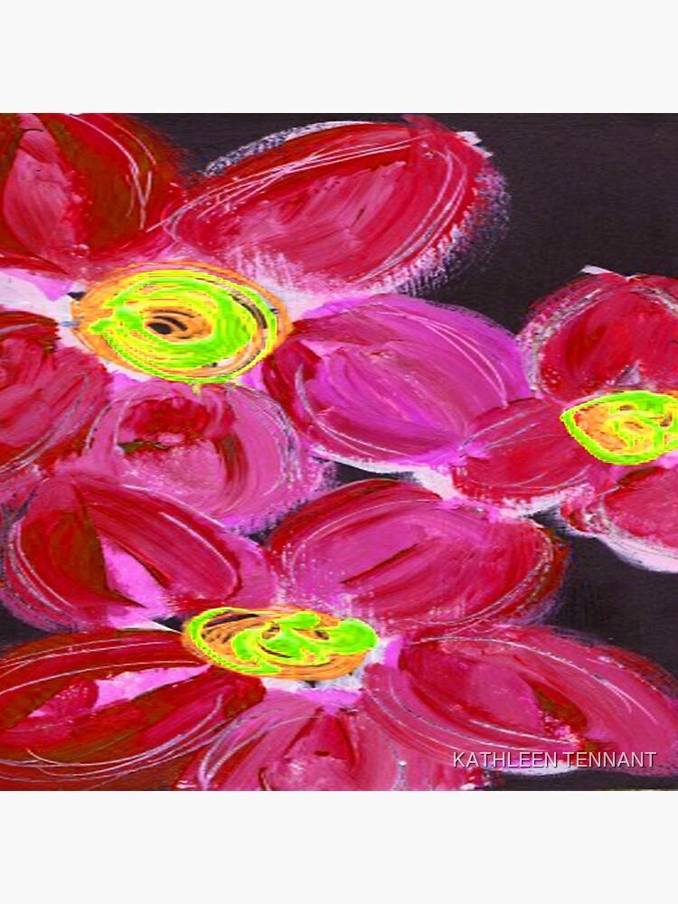 Fuchsia Floral by KTENNANT