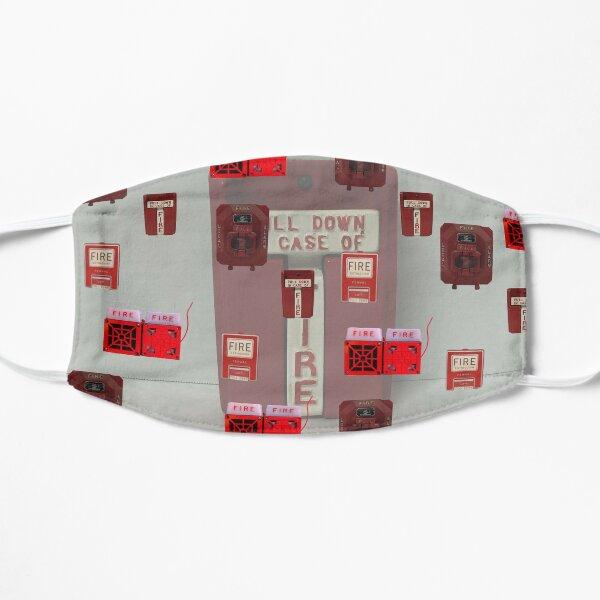 Rare Fire Alarms Flat Mask