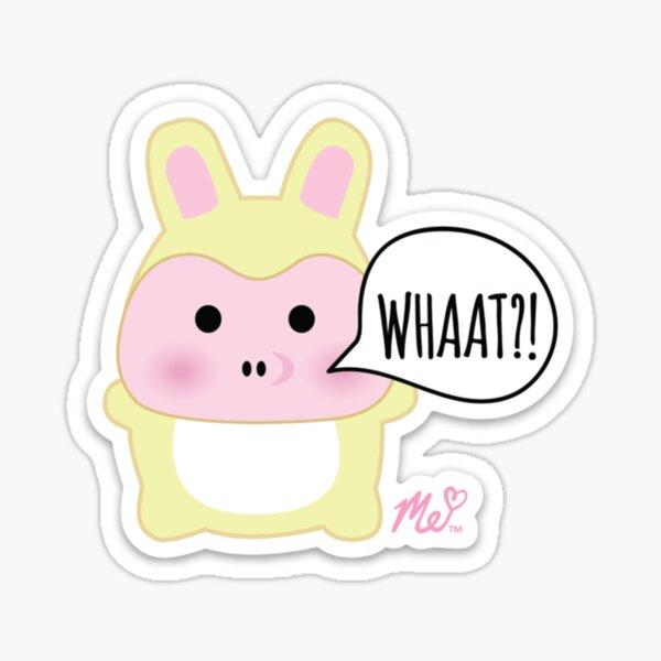 Moriah Elizabeth Bunny Pig Sticker