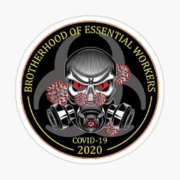 Brotherhood Of Essential Workers Sticker