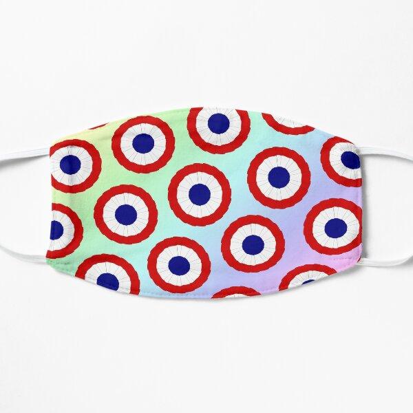 French Cockade Pattern Mask