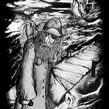 The Old Salty Sea Dog - Fisherman's Dub  by averybadbear