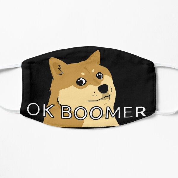 OK BOOMER doge meme Mask