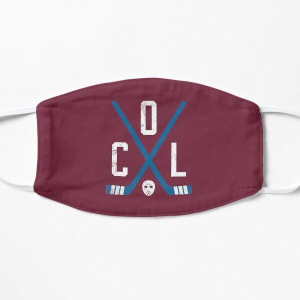 COL Retro Sticks - Burgundy Flat Mask