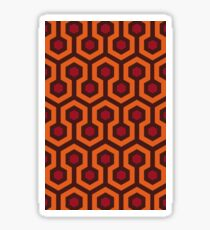 Overlook Hotel Carpet (The Shining)  Sticker