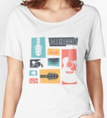 Guitar Collage Women's Relaxed Fit T-Shirt