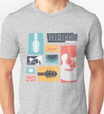 Guitar Collage Unisex T-Shirt