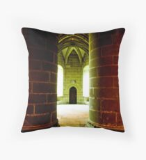 Mont St Michel France Throw Pillow