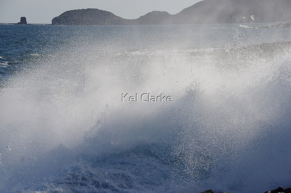 Bushrangers Bay, Cape Schanck, Victoria, X, 2012 by Kel Clarke