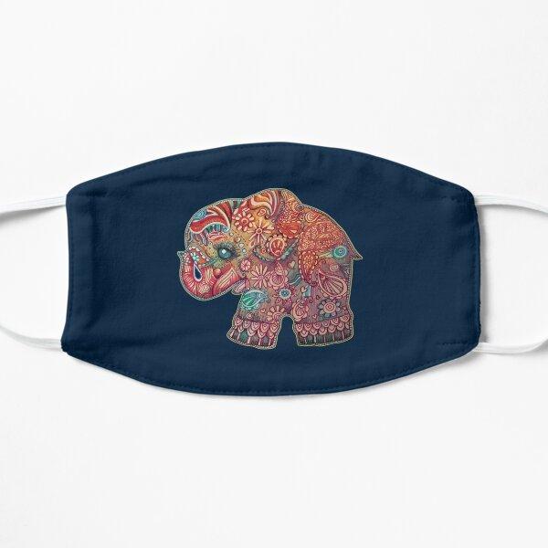 Vintage Elephant TShirt Mask