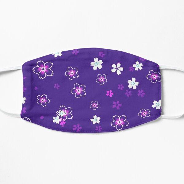Cherry blossom snow -purple Mask