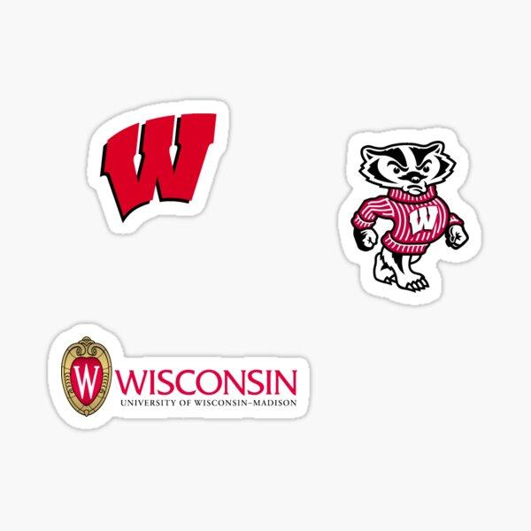 University of Wisconsin Madison Sticker Pack Sticker